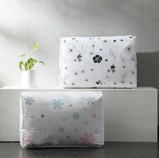 US Cute Anti Dust Clothes Storage Bag Quilt Blanket Storage Sort Home Organizer