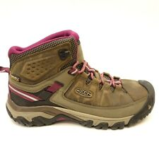 New Keen Womens Gypsum II Mid Leather Waterproof Trail Hiking Shoes Boots Sz 11