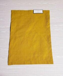 "Threshold 14""x 19"" Gold Thread Woven Cotton Blend Placemat Certified Standard"
