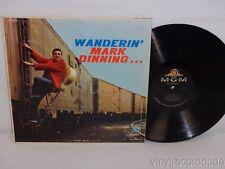 MARK DINNING Wanderin' 1960 MONO Original LP MGM Records E3855