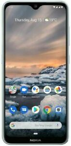 Nokia 7.2  64GB Ice (Unlocked) (Dual SIM) Android  4GB 64GB SILVER READ LISTING