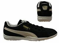 Puma Future Suede 50 TT Mens Turf Football Boots Black Trainers 104615 01 D13