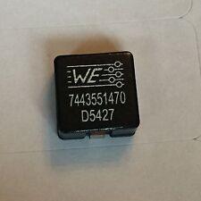 WURTH Electronics 7443551470 fisso induttori ci-HCI piatto 1365 4.7uH 13 A 7 Mohm