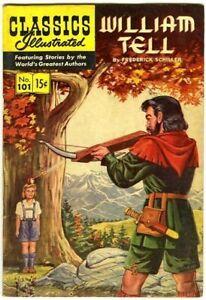 Classics Illustrated 101 William Tell 1st FVF