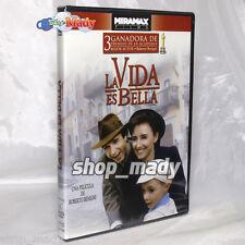 La Vida es Bella - La Vita é Bella - 1 DVD Región 1 Y 4 ESPAÑOL LATINO