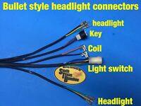 87-88 Honda TRX250R wiring harness **with brake light circuit