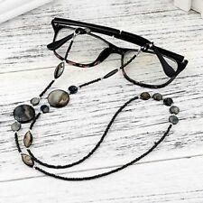 Women Reading Glasses Chain Shell Beads Sunglasses Cords Eyeglass Lanyard Straps