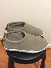 Nike Air Moc Ultra Light Taupe/Palomino-White Slip On 862440-200 Men's US 9
