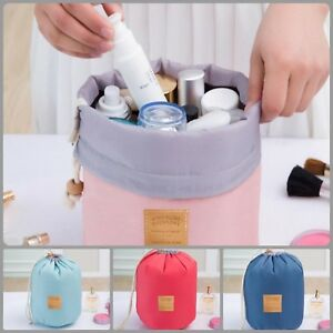 Waterproof Travel Cosmetic Bag Nylon Make Up Storage Organizer Case For Toiletry