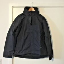 """Helly Hansen Black Mens Hannover Coat Small 71110 36"""" to 39"""" Chest"""