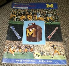 1968 Michigan Wolverines v Minnesota Football Program LITTLE BROWN JUG Ann Arbor