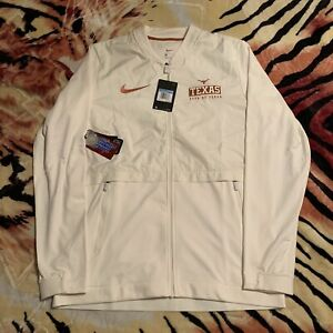 Nike Men's Texas Longhorns College Rival 1/2 Zip Jacket Sz. M NEW