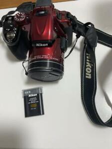 Nikon COOLPIX P600 16.0MP Digital Camera -Red