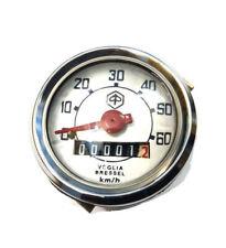 Vespa Tachometer Speedometer Round 60Kmph 48Mm Vespa V50, 50N, 90