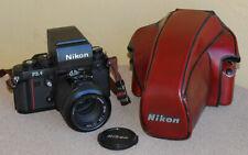 Nikon F3AF Auto Focus Film SLR w 80mm AF Nikkor F2.8 CF24 case F3 AF DX-1 EXC++