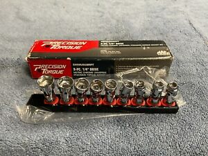 "*PERFECT* MAC 1/4"" drive Swivel Wobble Universal METRIC Socket set  9pc 6MM-14MM"