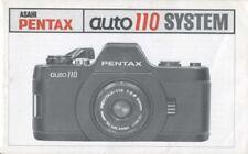 Asahi Pentax Auto 110 System Instruction Manual
