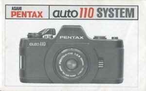 Asahi Pentax Auto 110 System Instruction Manual Original