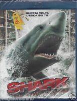 Blu-ray SHARK - QUESTA VOLTA L'ESCA SEI TU nuovo sigillato 2012