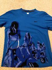 Adidas Vespa Mens Blue Tee ~~ sz XL ~~ Unique