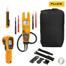 . Probador Fluke T6-1000 y 64 Max IR infrarrojo termómetro KIT4Q con 1AC TPAK & Bolsa