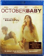October Baby New Blu-ray Disc Every Life Is Beautiful Starring Rachel Hendrix