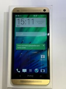 "HTC One 32GB GOLD (Unlocked) Smartphone 4MP 4.7"" Mobile phone Android FHD"