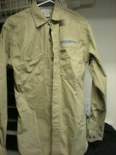 37bd739be7c 2 Carhartt XL Men s Long Sleeve Work Shirt Tan Good Condition