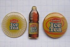 LIPTON / ICE TEA / FLASCHE / LOGOS    ................... Tee - Pins (114b)