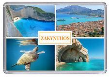 Zakynthos Zante, Greece Fridge Magnet 02
