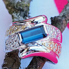Turmalin Brillant Ring 1.55 ct INDIGOLITH ELEGANT 750er-Gold Wert ca.4.330.-Euro
