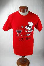 """Peanuts Snoopy """"Joe BBQ"""" T-Shirt - Adult Medium - NWOT"""