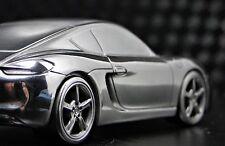 Porsche 911 GT 1 Exotic Sport Race Car Cayman 18 Racing 43 Carousel Silver 12 S