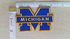 NCAA U of Michigan Wolverines Logo embroidered Iron on Patch High Quality Shirt