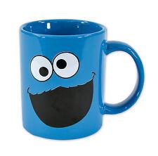SESAME STREET - CERAMIC COFFEE MUG / CUP (COOKIE MONSTER / FACE)
