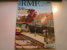**d RMF n°484 La gare d'Andelot / LS Models : Set 41001 de voitures Mistral 69