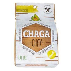 Chaga Tea / 100% Chaga Mushroom Tea  with Licorice, 200gr