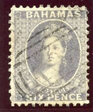 Bahamas 1862 QV 6d lavender-grey very fine used. SG 11. Sc 7.