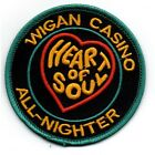 WIGAN CASINO ALL-NIGHTER HEART OF SOUL NEW SEW ON PATCH NORTHERN SOUL CLUB