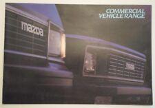 MAZDA COMMERCIAL VEHICLES 1983 UK Mkt Brochure - B1800 Pick-up E1600 Panel Van