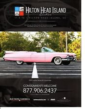 1959 CADILLAC SERIES 62 CONVERTIBLE  ~  GREAT AUCTION AD