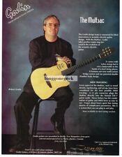 1994 Godin Multiac Guitar Robert Godin Magazine Ad