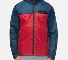 TAVIK Men's LINSTOW Shell Jacket/Windbreaker - Red/Blue - Large - NWT
