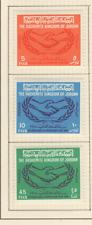 Jordanie 3 timbres non oblitérés 1965 Coopération Internationale /T2848