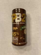 Lot of (2) PB2 Peanut Butter/Chocolate 6.5 oz  by Bell Plantation Exp 5/20