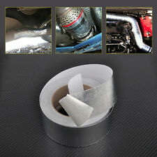 New Aluminum Reinforced Tape Heat Resistant Shield Wrap for Intake Pipe Suction