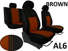 VW PASSAT B6 2005-2010 ECO LEATHER ALCANTRA SEAT COVERS MADE TO MEASURE FOR CAR