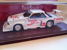 Truescale Miniatures 1984 Nissan Bluebird #20 Silhouette Gr Coca Cola Light New