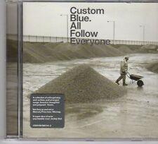 (DX285) Custom Blue, All Follow Everyone - 2002 CD