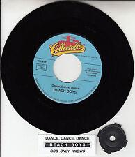 THE BEACH BOYS Dance, Dance, Dance & God Only Knows record + juke box strip NEW